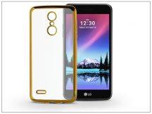 LG K4 M160 (2017) szilikon hátlap - Jelly Electro - gold