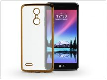 LG K4 M160 (2017) szilikon hátlap - Jelly Electro - rose gold