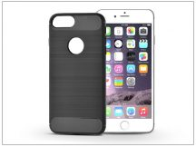 Apple iPhone 6/6S szilikon hátlap - Carbon - fekete