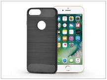 Apple iPhone 7 Plus szilikon hátlap - Carbon - fekete