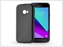 Samsung G390F Galaxy Xcover 4 szilikon hátlap - Jelly Flash Mat - fekete