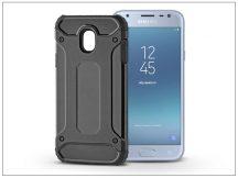 Samsung J330F Galaxy J3 (2017) ütésálló hátlap - Armor - fekete