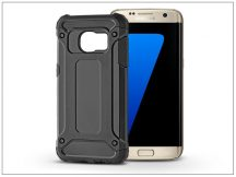 Samsung G930F Galaxy S7 ütésálló hátlap - Armor - fekete