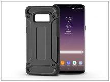Samsung G955F Galaxy S8 Plus ütésálló hátlap - Armor - fekete