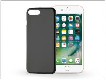 Apple iPhone 7 Plus/iPhone 8 Plus szilikon hátlap - Jelly Flash Mat - fekete