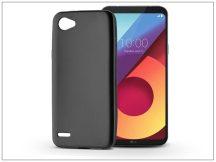 LG Q6 M700A szilikon hátlap - Jelly Flash Mat - fekete