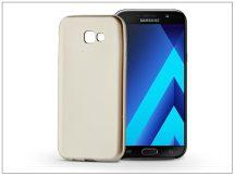 Samsung A720F Galaxy A7 (2017) szilikon hátlap - Jelly Flash Mat - gold