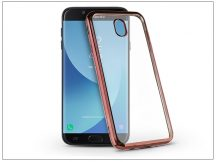 Samsung J730F Galaxy J7 (2017) szilikon hátlap - Jelly Electro - rose gold