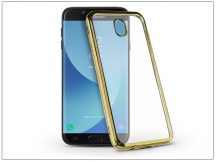 Samsung J730F Galaxy J7 (2017) szilikon hátlap - Jelly Electro - gold