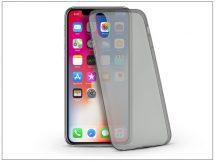 Apple iPhone X szilikon hátlap - Ultra Slim 0,3 mm - fekete