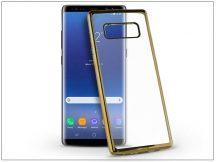 Samsung N950F Galaxy Note 8 szilikon hátlap - Jelly Electro - gold