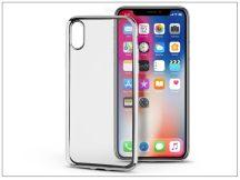 Apple iPhone X szilikon hátlap - Jelly Electro - ezüst