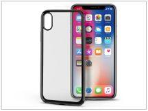 Apple iPhone X szilikon hátlap - Jelly Electro - fekete