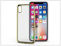 Apple iPhone X szilikon hátlap - Jelly Electro - gold
