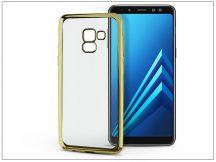 Samsung A530F Galaxy A8 (2018) szilikon hátlap - Jelly Electro - gold