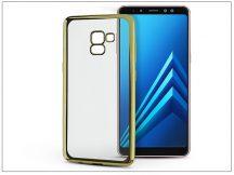 Samsung A730F Galaxy A8 Plus (2018) szilikon hátlap - Jelly Electro - gold