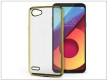LG Q6 M700A szilikon hátlap - Jelly Electro - gold