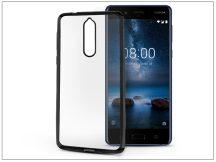 Nokia 8 szilikon hátlap - Jelly Electro - fekete