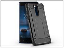 Nokia 8 ütésálló hátlap - Armor - fekete