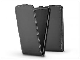 Slim Flexi Flip bőrtok - Nokia 8 - fekete