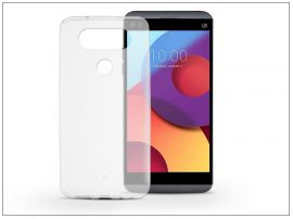 LG Q8 H970 szilikon hátlap - Ultra Slim 0,3 mm - transparent