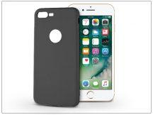 Apple iPhone 7 Plus szilikon hátlap - Soft - fekete