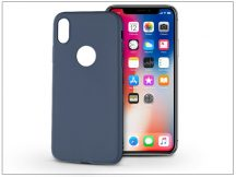 Apple iPhone X szilikon hátlap - Soft - kék