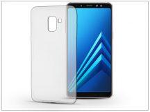 Samsung A730F Galaxy A8 Plus (2018) szilikon hátlap - Ultra Slim 0,3 mm - transparent