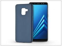 Samsung A530F Galaxy A8 (2018) szilikon hátlap - Soft - kék