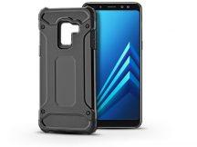 Samsung A530F Galaxy A8 (2018) ütésálló hátlap - Armor - fekete