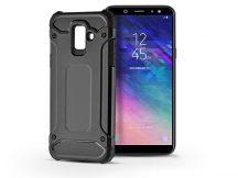 Samsung A600F Galaxy A6 (2018) ütésálló hátlap - Armor - fekete