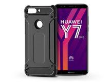 Huawei Y7 (2018)/Y7 Prime (2018)/Honor 7C ütésálló hátlap - Armor - fekete