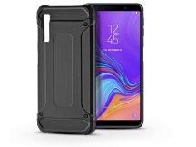 Samsung A750F Galaxy A7 (2018) ütésálló hátlap - Armor - fekete