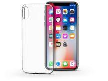 Apple iPhone X/XS szilikon hátlap - Soft Clear - transparent