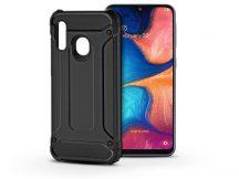 Samsung A202F Galaxy A20e ütésálló hátlap - Armor - fekete