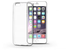 Apple iPhone 6/6S szilikon hátlap - Soft Clear - transparent