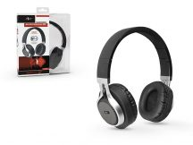 ART Wireless Bluetooth sztereó fejhallgató beépített mikrofonnal - ART AP-B04 - fekete