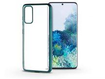 Samsung G980F Galaxy S20 szilikon hátlap - Electro Matt - zöld