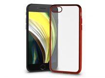 Apple iPhone 7/iPhone 8/SE 2020 szilikon hátlap - Electro Matt - piros