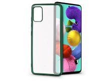 Samsung A515F Galaxy A51 szilikon hátlap - Electro Matt - zöld