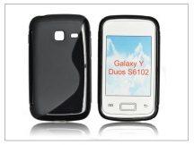 Samsung i6102 Galaxy Y Duos szilikon hátlap - S-Line