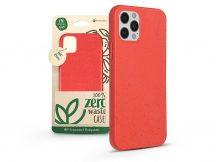 Apple iPhone 12/12 Pro hátlap környezetbarát, 100%-ban biológiailag lebomló anyagból - Forcell Bio Zero Waste Case - pink