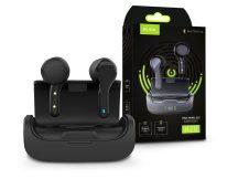 Quoa Bluetooth sztereó TWS headset v5.0 + töltőtok - Quoa K28 True Wireless Headset - fekete