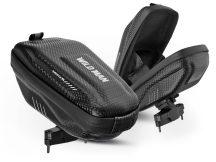 Wildman univerzális kerékpárra szerelhető, vízálló, kemény táska - Wildman E7S - fekete - ECO csomagolás