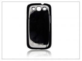 Samsung i9300 Galaxy S III hátlap - Hard Case - fekete