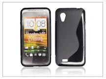 HTC Desire VT szilikon hátlap - S-Line - fekete