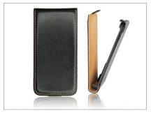 Slim Flip bőrtok - Sony Xperia TX (LT29i) - fekete
