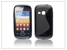 Samsung S6310 Galaxy Young szilikon hátlap - S-Line - fekete