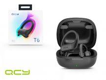 Xiaomi QCY Bluetooth sztereó TWS sport headset v5.0 + töltő dokkoló - QCY T6 TWS Sport Bluetooth Earbuds - black