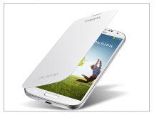 Samsung i9500 Galaxy S4 flipes hátlap - EF-FI950BWEGWW gyári - white